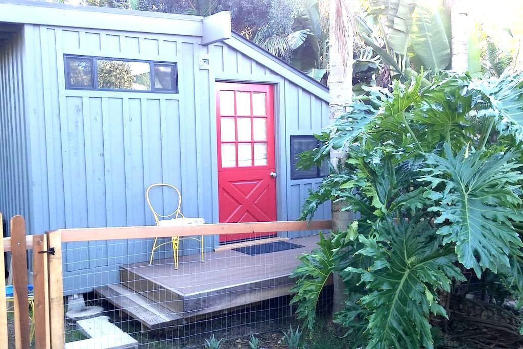 Quiet cottage near the beach in a private yard - Solana Beach - Guesthouse