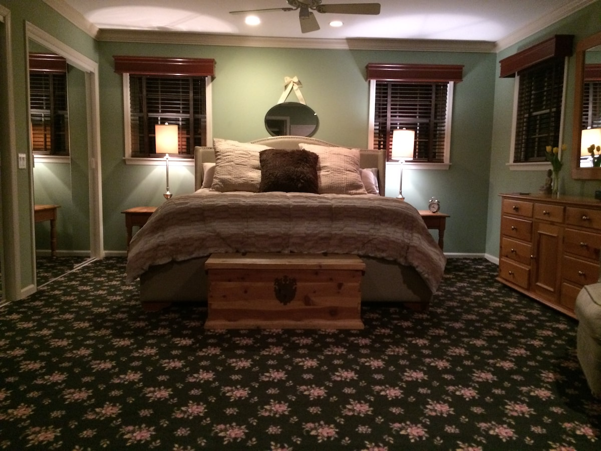 Master Bedroom Suite in Southampton