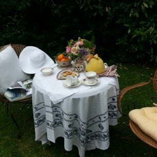 Breakfast in our sunny garden or just a pot of coffee....whatever you choose, you will enjoy the birdsong.