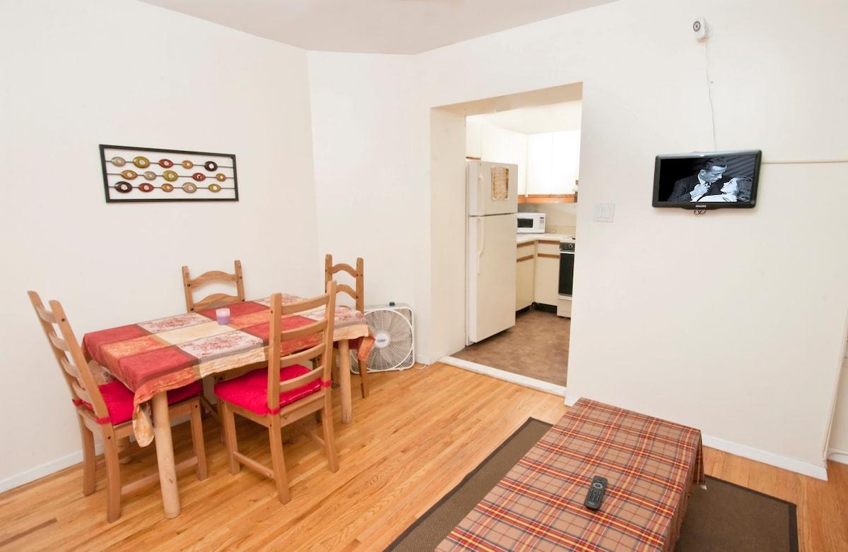 Large furnish 2 bed apt Inwood, NYC