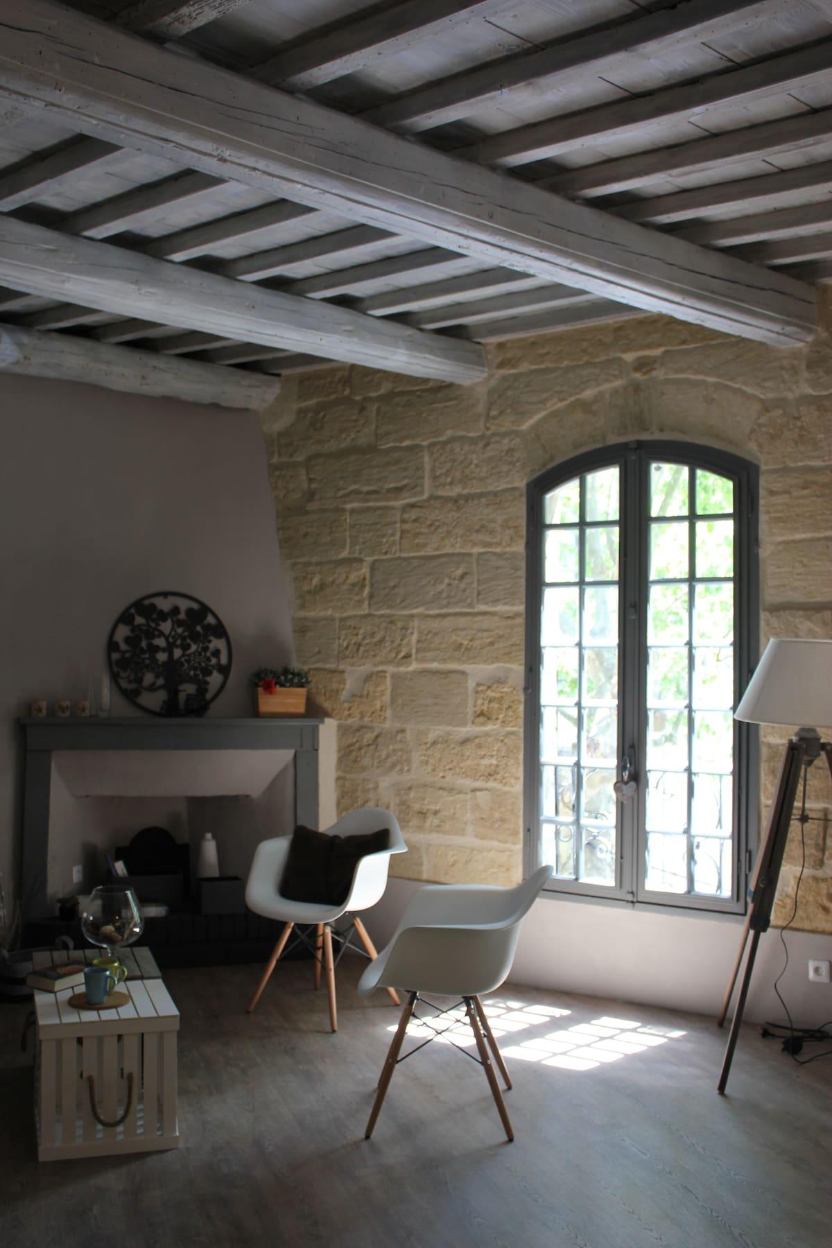 Sumptuous loft in the heart of Uzès