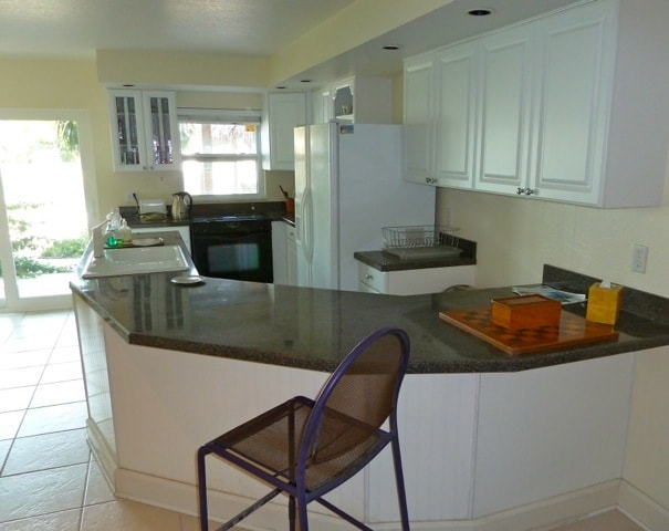 Kitchen Diner which looks out to the intracoastal