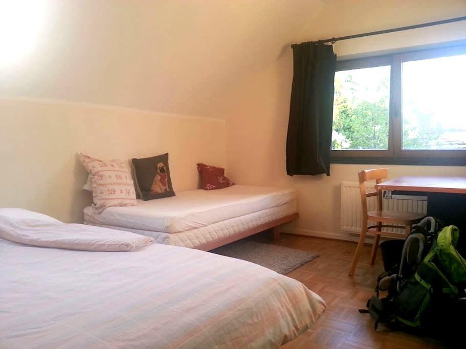 Belle chambre privée au calme - Brussels - Villa