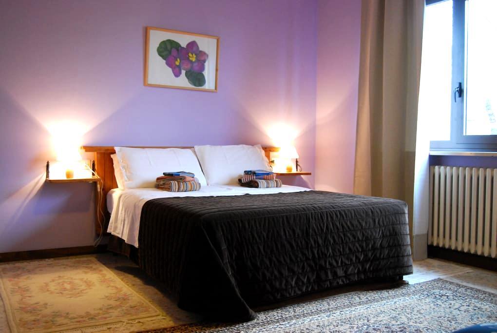 Lovely apartment with breakfast - Montrigiasco