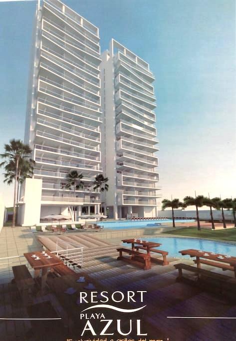 Resort Playa Azul - Tonsupa
