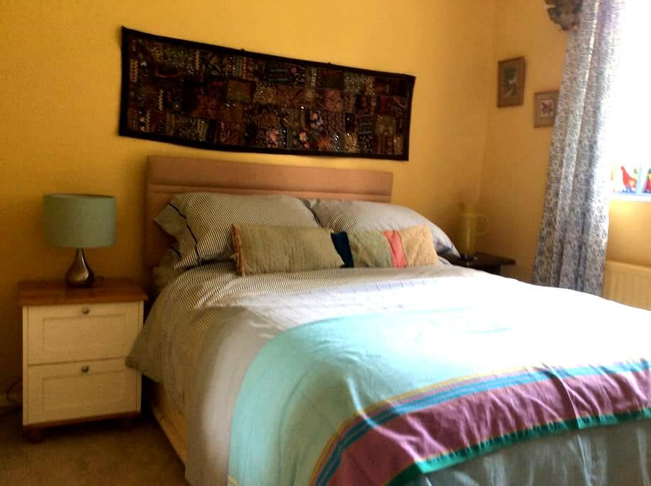 Pembroke Lamphey double room - Lamphey - Inap sarapan