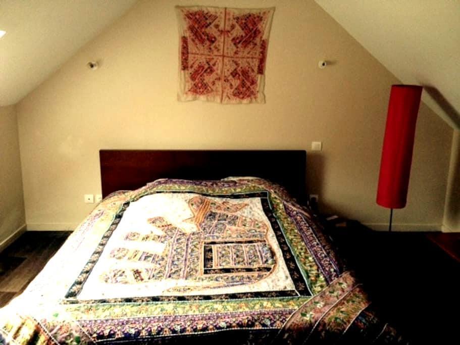 Chambre proche Etretat - Saint-Jouin-Bruneval - บ้าน
