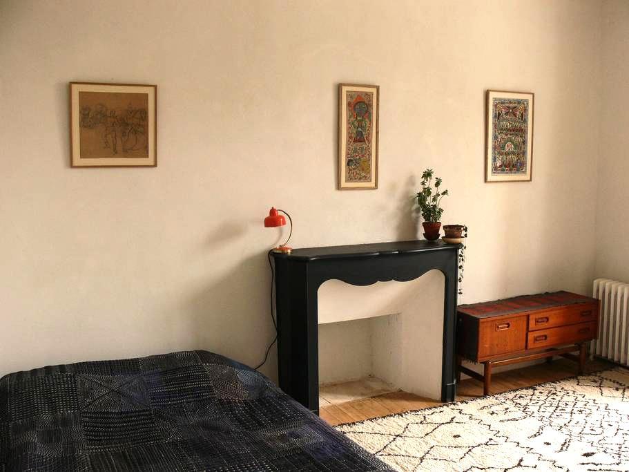 Chambre lumineuse au centre - Douarnenez - Hus