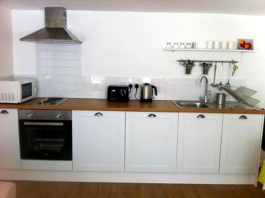 Self contained basement flat in central Lewes. - Lewes - Apartament