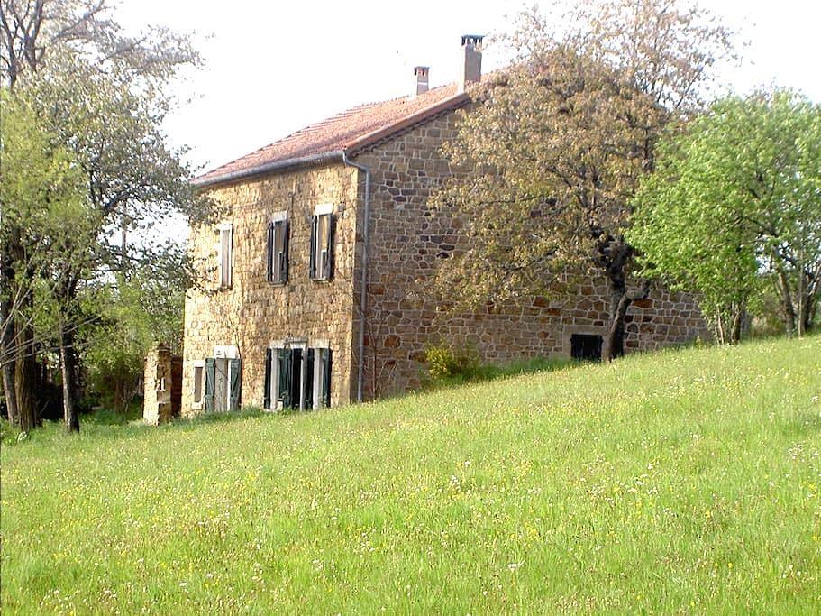 Le Besset  : Gîte côté Village - Vielprat - Rumah