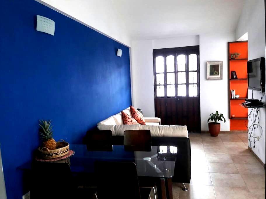 Apartamento con terraza en el barrio histórico - Cali - Apartment