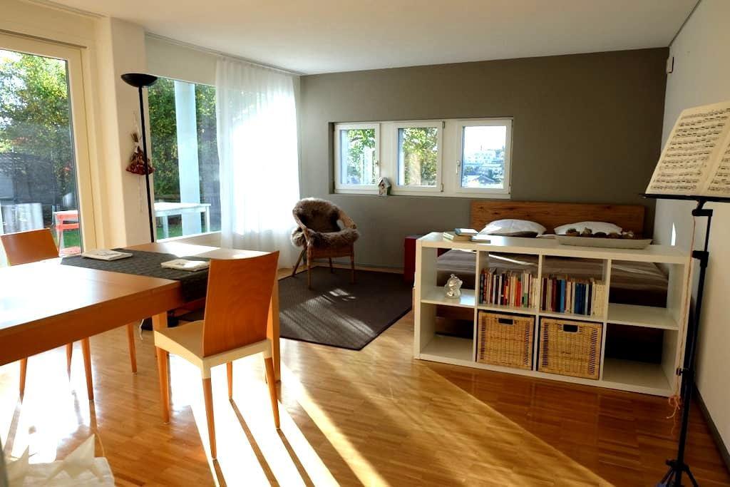 Studio sonnig mit Küche und Bad - Eschenbach - Condo