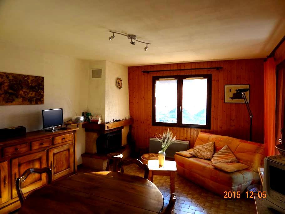 Le Chamois à 5 km de La Clusaz - Les Villards-sur-Thônes - Apartament