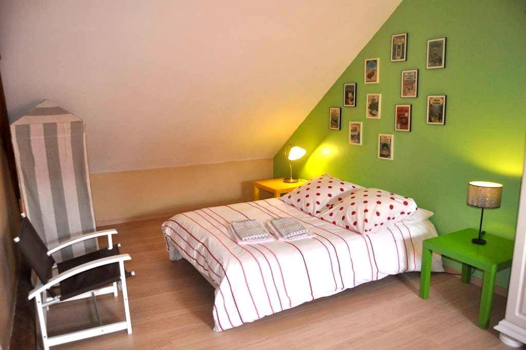 Bedroom in a house in Alençon - Alençon - บ้าน