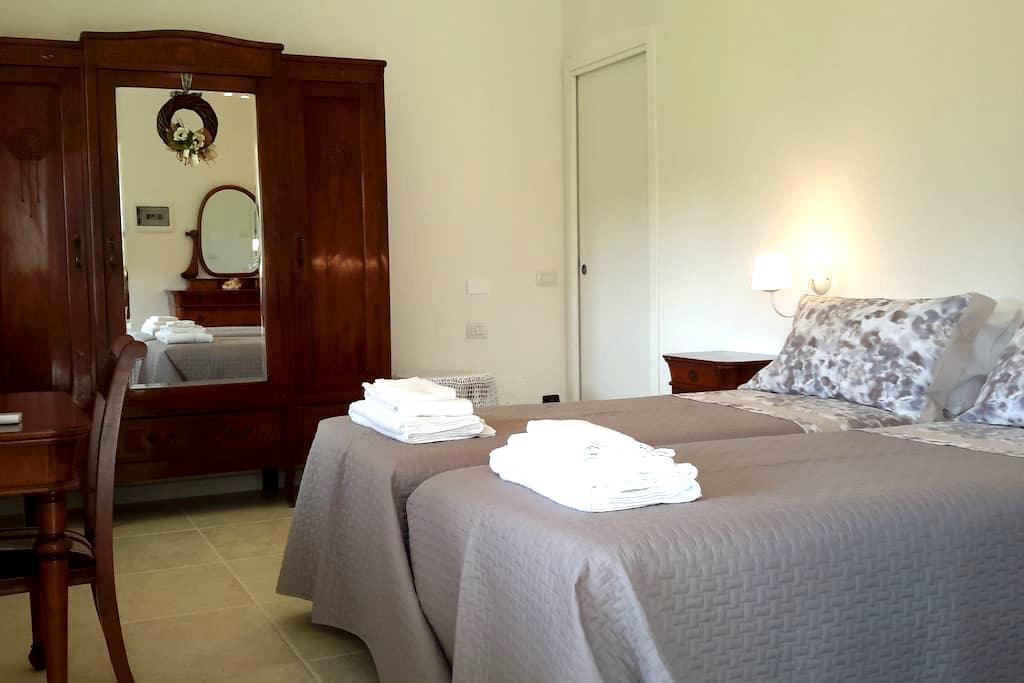 Stanza doppia con bagno privato - Villafranca di Verona - Apartamento