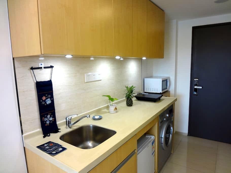 能做饭洗衣,设施齐全舒适公寓 - Foshan - Lejlighed