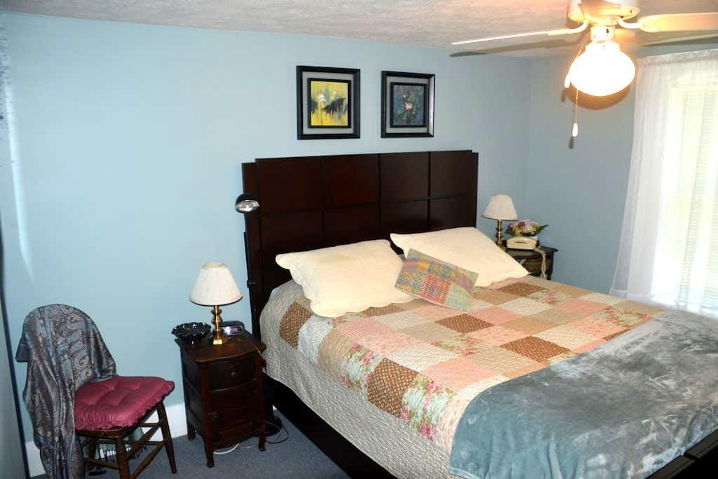 Private room in Marietta, Ohio -- Blue Room - Marietta - Casa