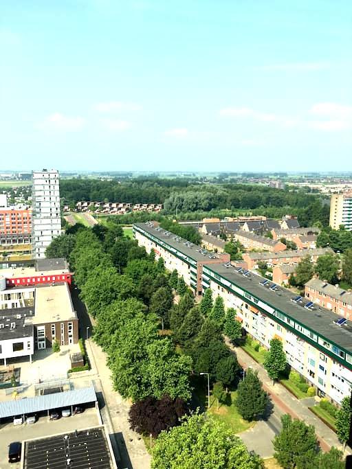 Penthouse in de stad Groningen. - Groningen - Apartment