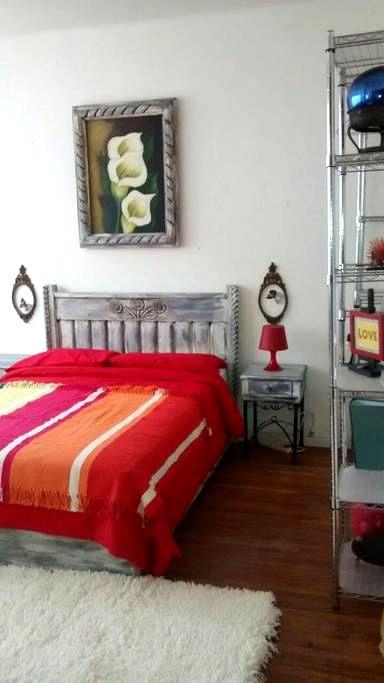 Habitación acogedora y con estilo en la Juárez - Juárez - Apartamento