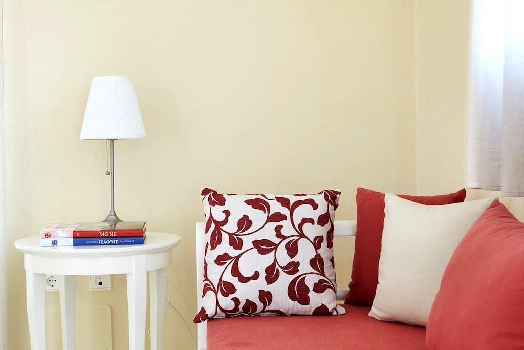One bed apartment with sea view, breakfast incl. - Agios Prokopios - Apartamento