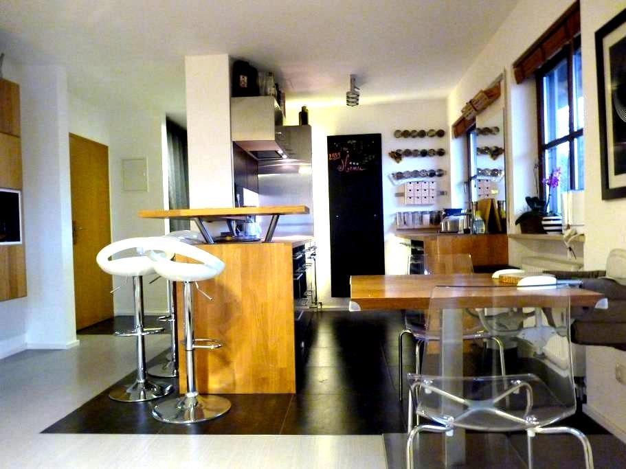 Top Duplex Flat in  South Munich - Oberhaching - Apartment