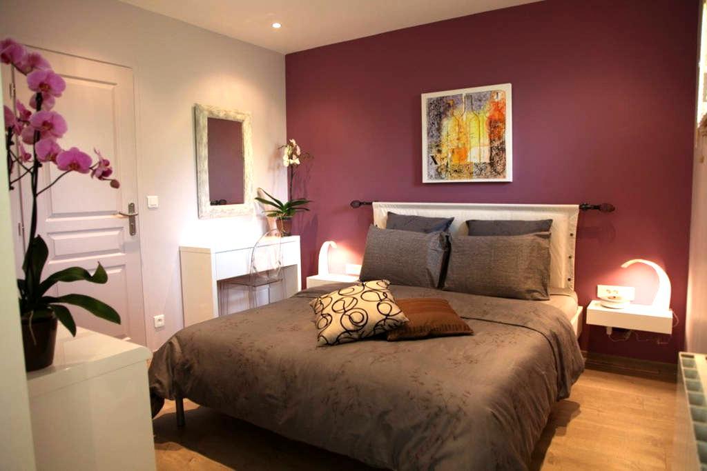 B&B BORDEAUX Bedroom Coté Vignoble - Sadirac