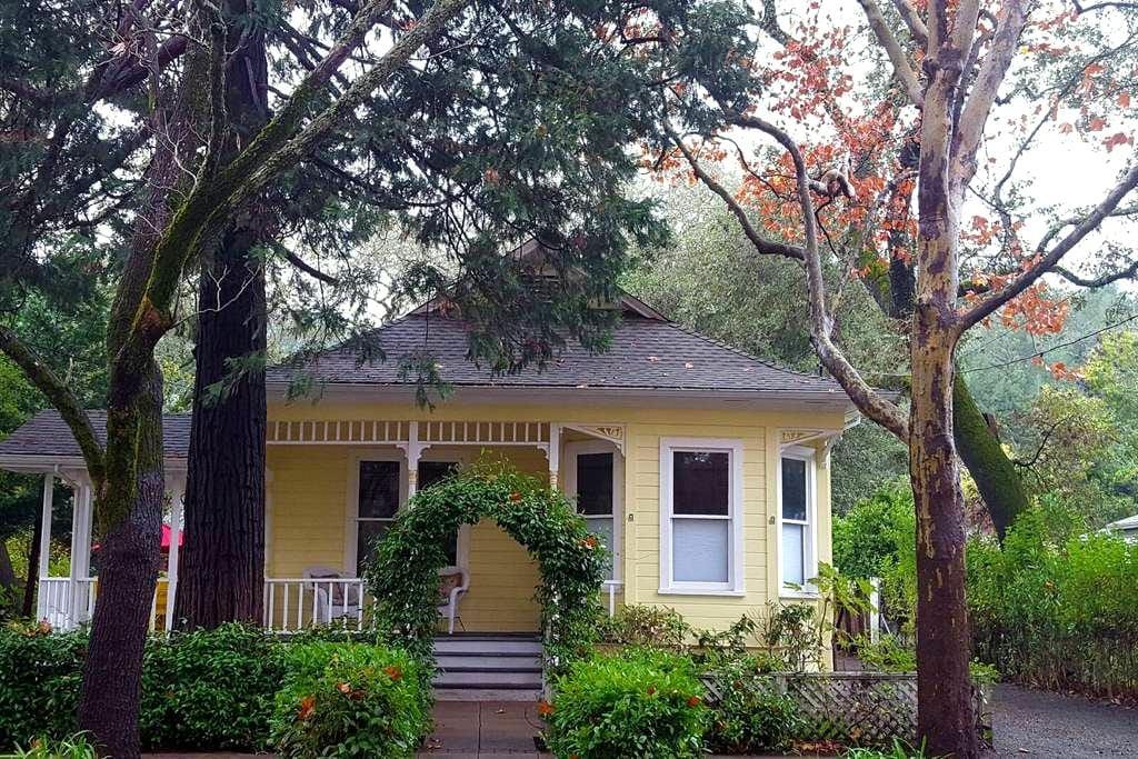 Cedar Street Victorian - Calistoga - Talo