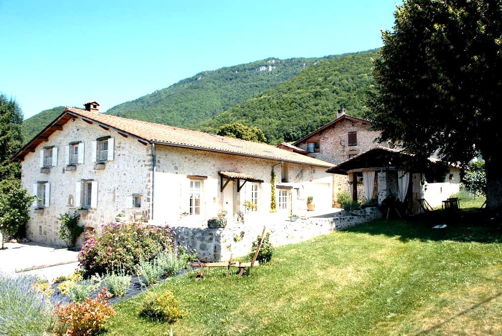 """Maison d'hôtes """" l'Estapade"""" - Saint-Jean-en-Royans - Haus"""
