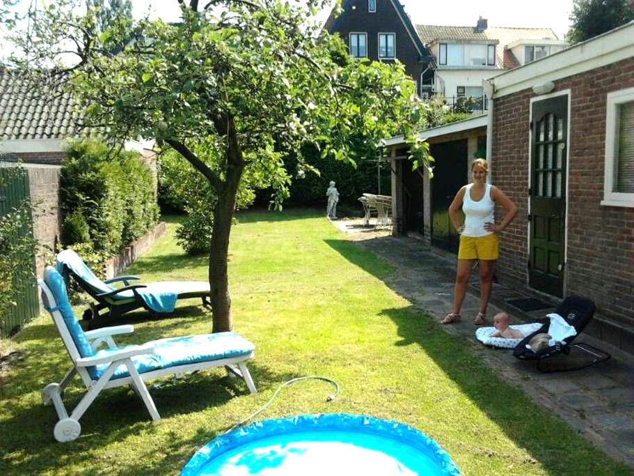 Sunny house 30mtrs garden near Adam - Halfweg - Huis