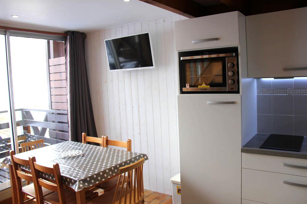 Appartement entièrement rénové au pied des pistes - Aragnouet