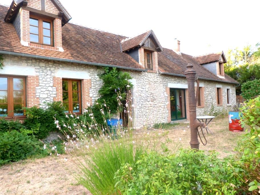 Old farmhouse in region of kings' chateaux - Mont-près-Chambord - Penzion (B&B)