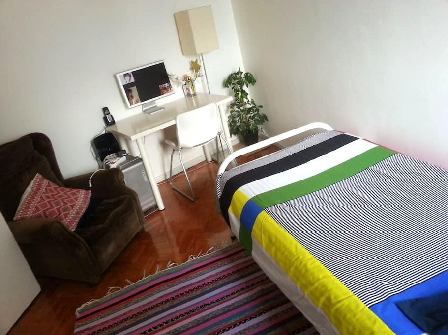 Single room at historical center - Braga