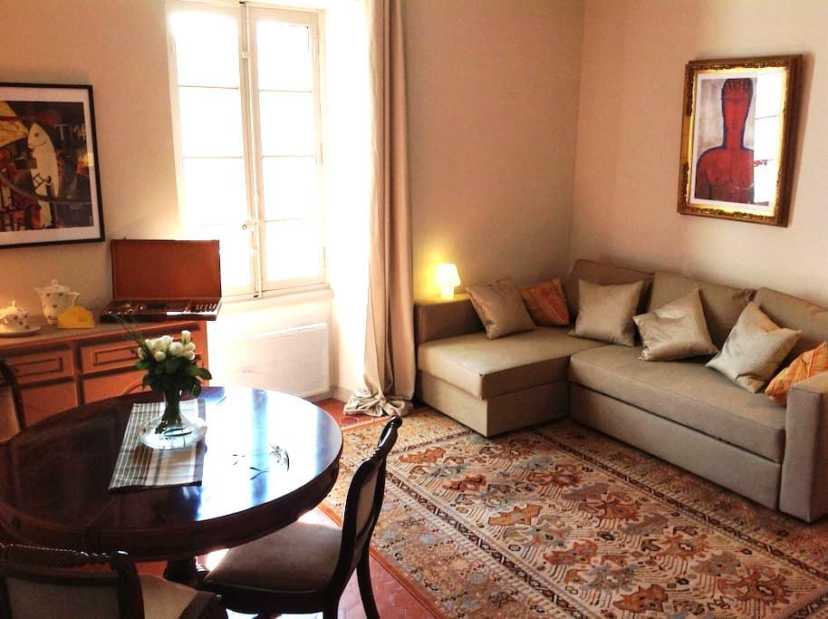 Appartement de charme climatisé - Lourmarin - Appartement