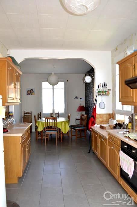 Une grande maison pour vos étapes dans le Loiret - Châlette-sur-Loing - Hus