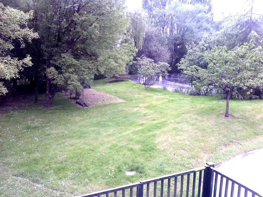 CHAMBRE  DANS LE PARC AVEC ACCES SAUNA, PISCINE ++ - Saint-Roch - House