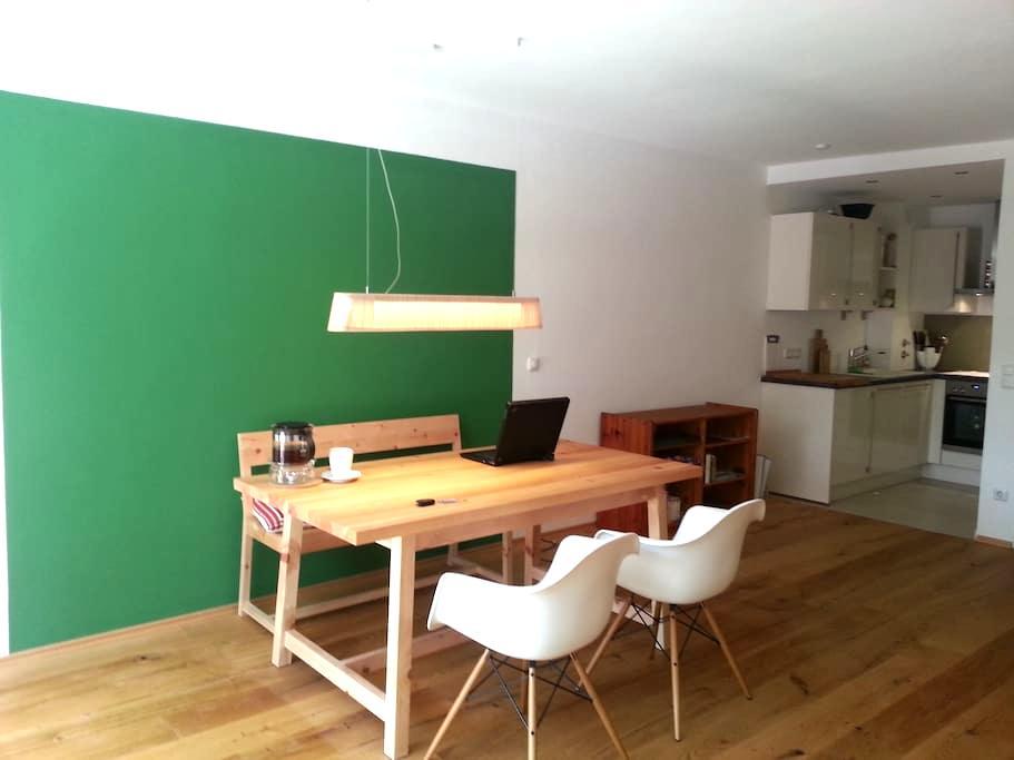 Karwendelblick & Zirbenholz - Mittenwald - Apartemen