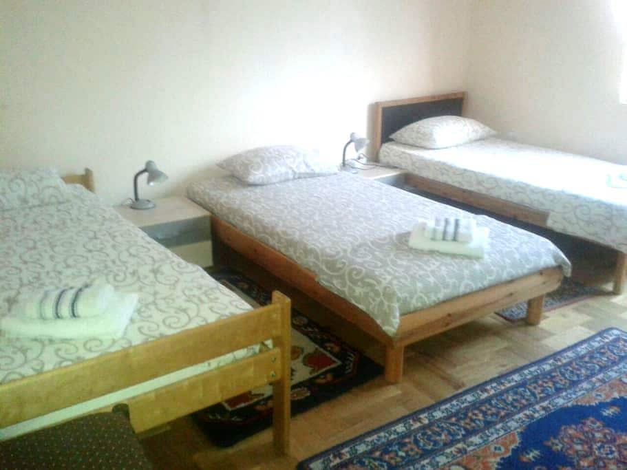 Cozy 3BD with private parking - Vršac - Дом