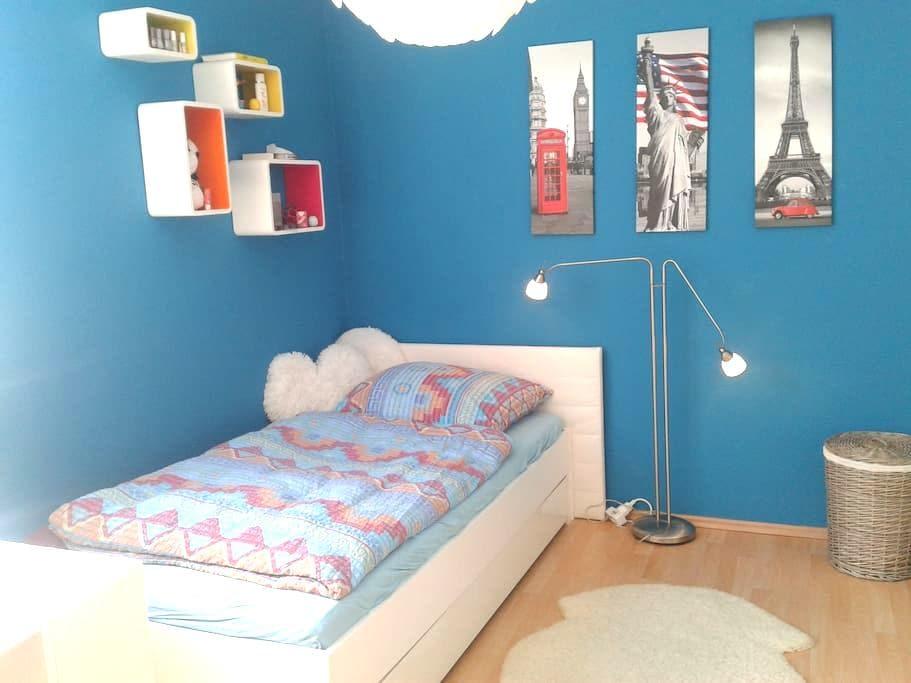 Helles, modernes, ruhiges Zimmer im grünen Norden - Berlín