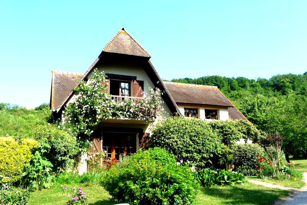 Maison d'Hôtes les Coquelicots - Giverny - Oda + Kahvaltı