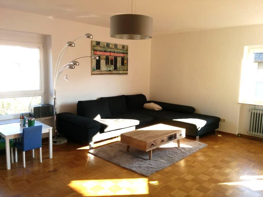 Helle Wohnung mit 2 Balkonen und Gartenzugang - Freiburg im Breisgau - Pis