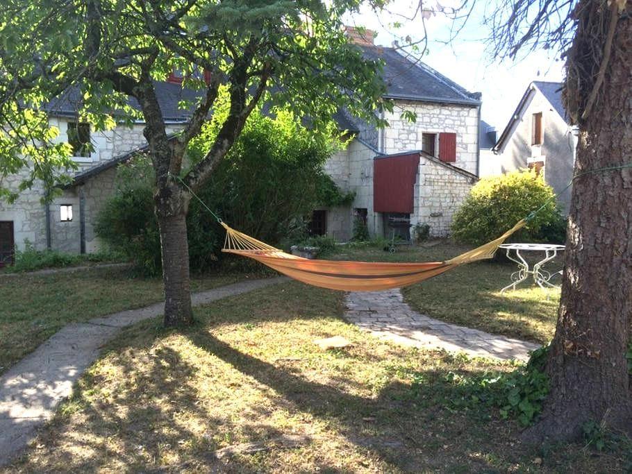 Maison de charme à 5 min de Chinon - Ligré - Haus