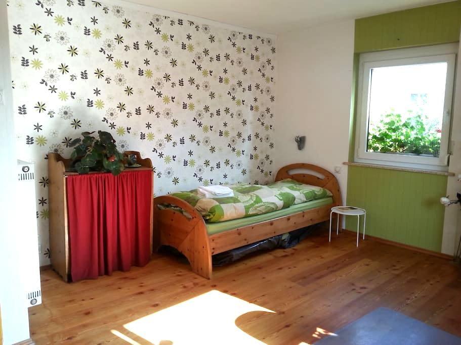 Helles Zimmer m. Bad/Küchen Benutzg - Schweinfurt - Huoneisto