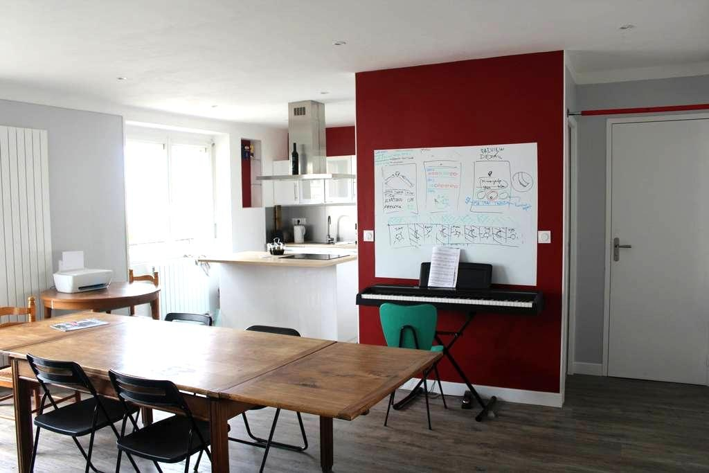 Loft St Marc area - near dowtown - Brest - Townhouse