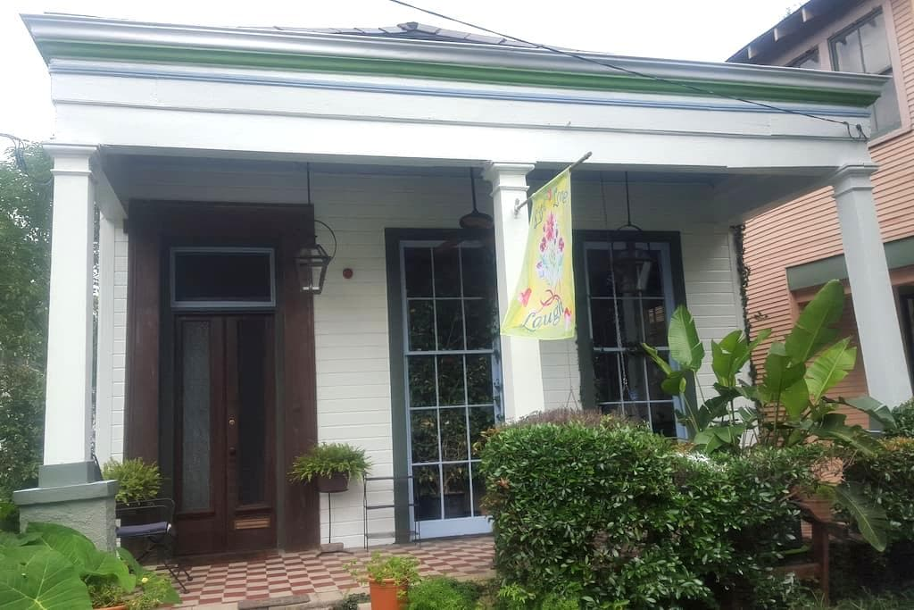 Charming New Orleans Side Hall Shotgun Home - New Orleans - House
