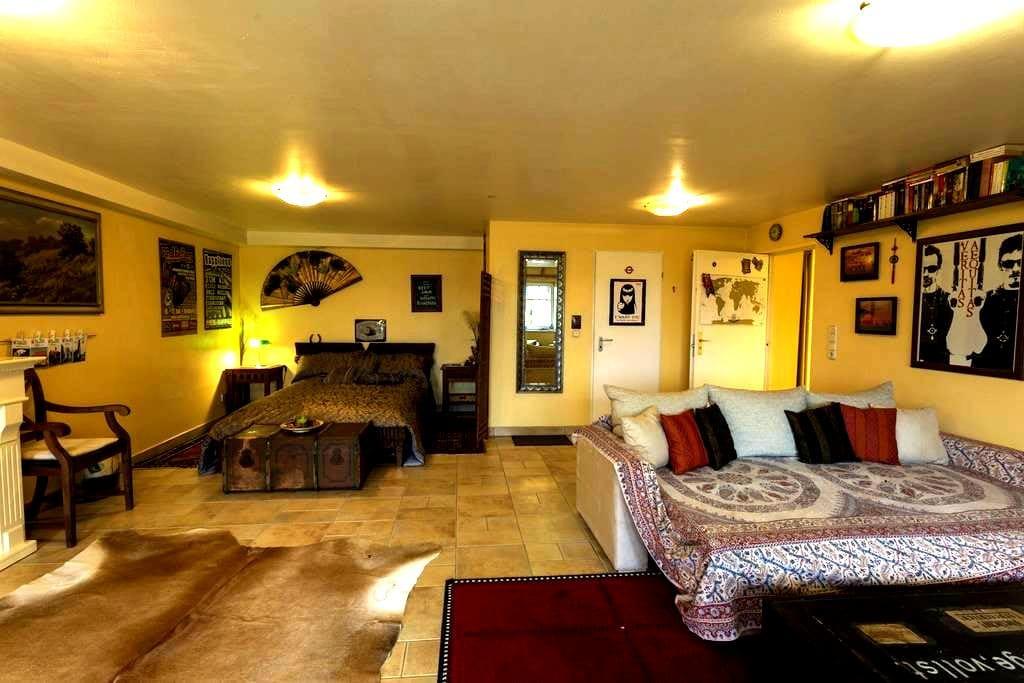 "Charming Apartment ""Fuchsbau"" in Ronneburg - Ronneburg - 公寓"