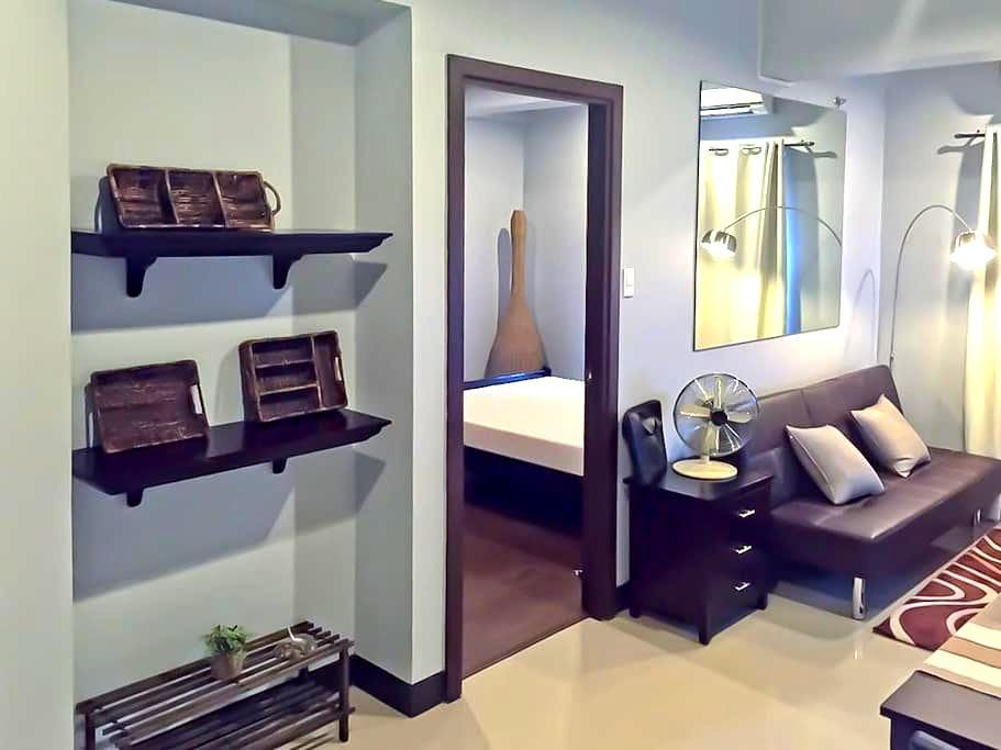 Nostalgic 1-Bdr Across Int'l Airport Terminal 3 - Pasay - Appartement