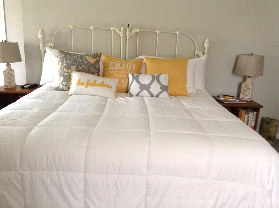 Beautiful master suite at the Shore - Margate City - Casa