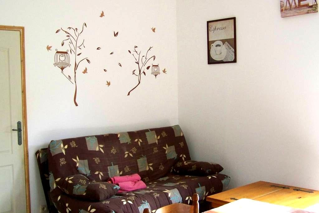 LOUE GITE NEUF DE 65 M2 A 35 MINUTES D'AJACCIO - Azilone-Ampaza - Wohnung
