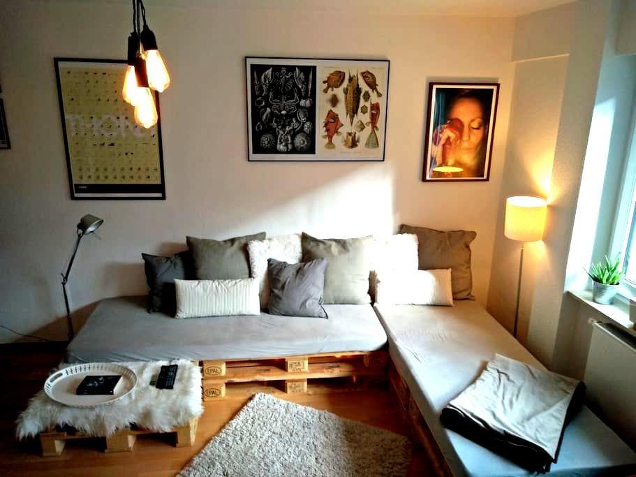 comfartable & cozy room Berger Straße downtown - Frankfurt am Main - Apartmen