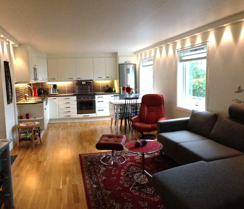 Vangsnes - charming apartment with Fjord view - Vangsnes - Apartament
